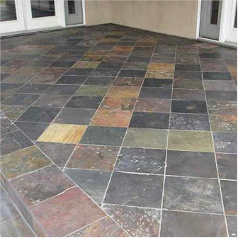 Slate Tile Installation